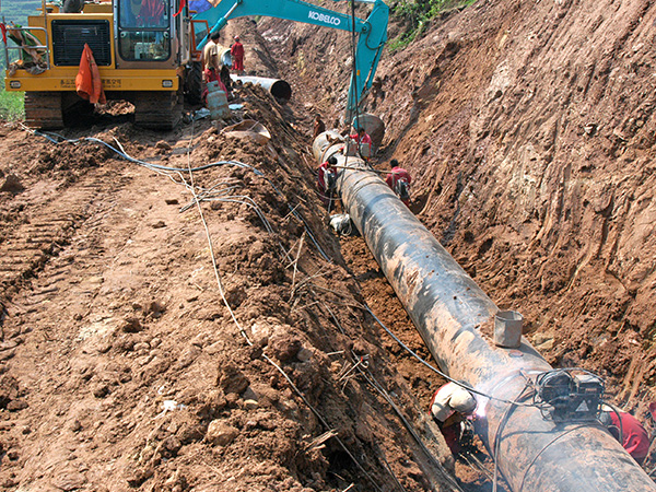 Xionggu--Sichuan to East China Natural Gas pipeline case