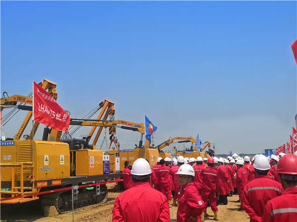 Construction of Russia to China Eastern Gas Pipeline Phase 2 Begins