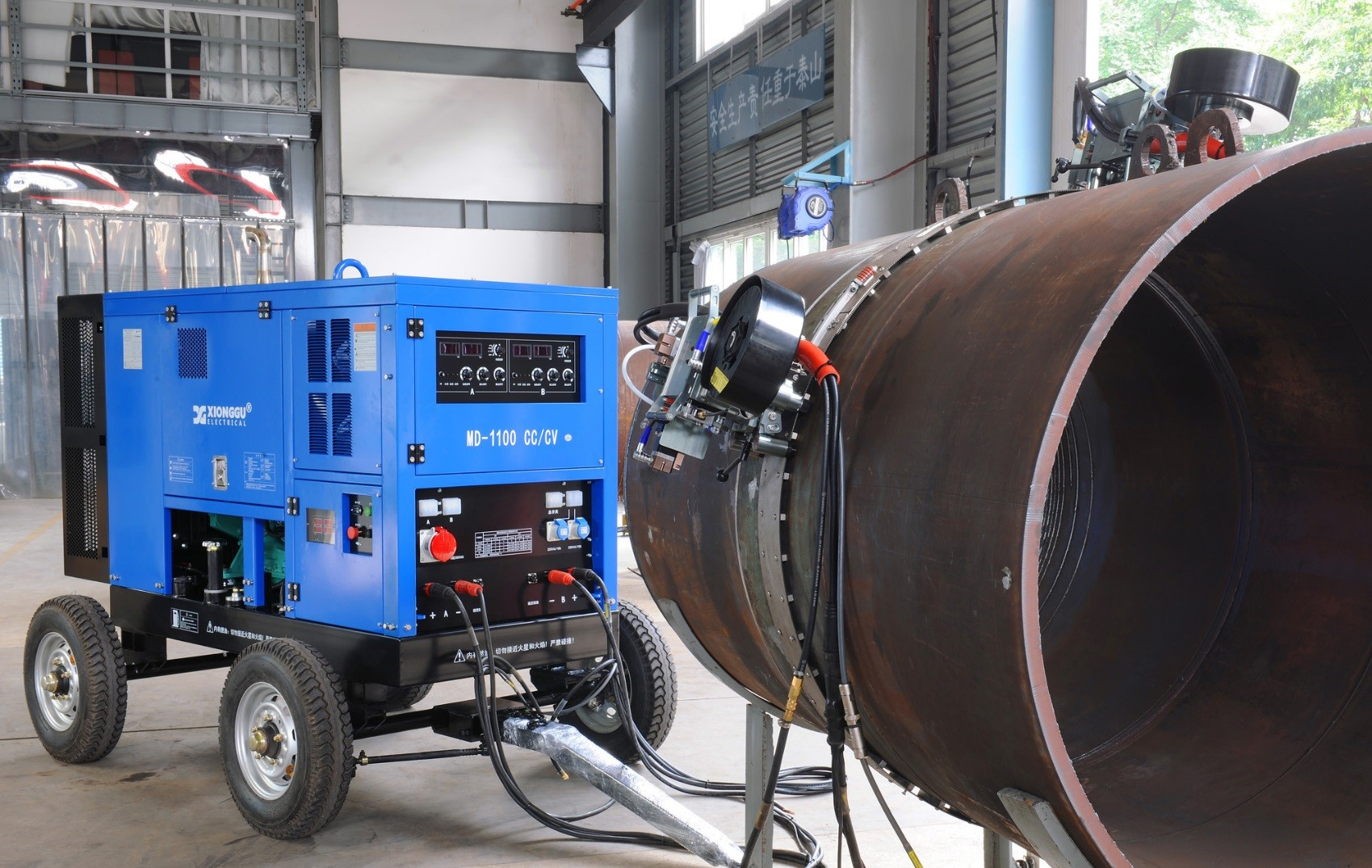 Flexible Solution to Pipeline Tie-in and Repair Welding