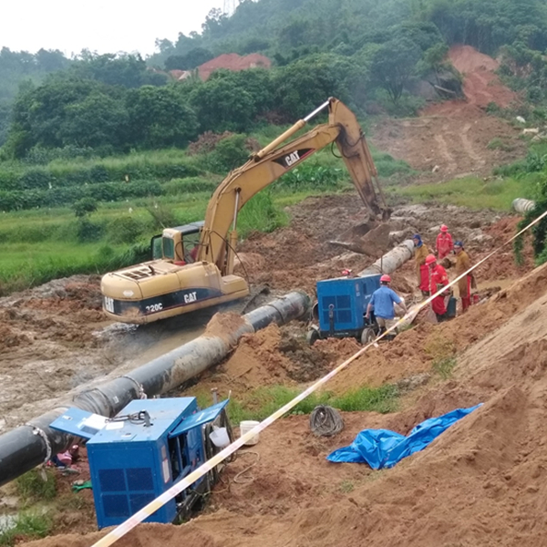 Battling pandemic together-Xionggu diesel welder support Thailand pipeline project