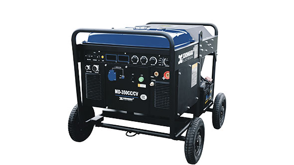 Engine driven welding machine