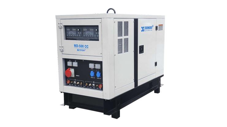 MD-500CC  Diesel Engine Driven Pipeline Welding Workstation